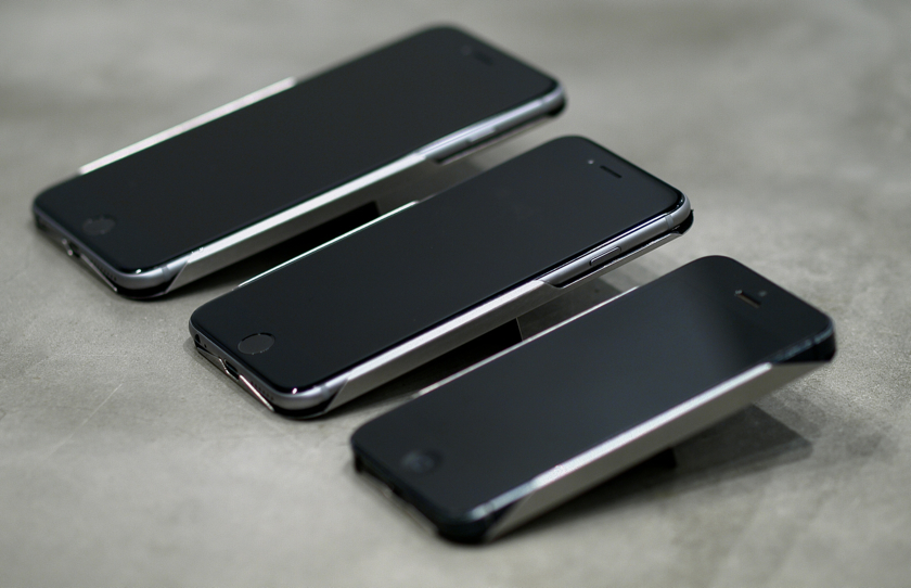 "iPhoneホルダー+スタンド""FLAP"""
